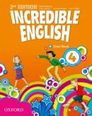 INCREDIBLE ENGLISH 4 CLASS BOOK - SECOND EDITION
