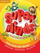 SUPER MINDS AMERICAN ENGLISH STARTER CLASS AUDIO CDS - 1ST ED