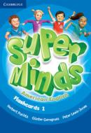 SUPER MINDS AMERICAN ENGLISH 1 FLASHCARDS - 1ST ED