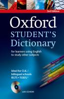 OXFORD STUDENTS DICTIONARY PAPERBACK WITH CD-ROM - THIRD EDITION