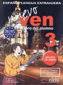 NUEVO VEN 3 LIBRO DEL ALUMNO + CD AUDIO