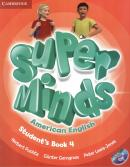 SUPER MINDS AMERICAN ENGLISH 4 STUDENTS BOOK WITH DVD-ROM - 1ST ED