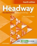 NEW HEADWAY PRE-INTERMEDIATE WORKBOOK AND ICHECKER WITH KEY - FOURTH EDITION