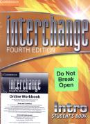INTERCHANGE INTRO STUDENTS BOOK WITH SELF STUDY DVD-ROM AND ONLINE WORKBOOK PACK - FOURTH EDITION