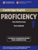 CAMBRIDGE ENGLISH PROFICIENCY 1 FOR UPDATED EXAM SB WITH ANSWERS