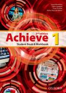 ACHIEVE 1 STUDENT BOOK & WORKBOOK - 2ND ED