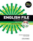 ENGLISH FILE INTERMEDIATE STUDENTS BOOK WITH ITUTOR AND ONLINE SKILLS - 3RD ED