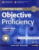 OBJECTIVE PROFICIENCY STUDENTS BOOK WITH ANSWERS - 2ND ED