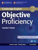 OBJECTIVE PROFICIENCY TEACHERS BOOK - 2ND ED