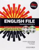 ENGLISH FILE ELEMENTARY A MULTIPACK WITH ITUTOR AND ONLINE SKILLS - THIRD EDITION