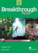 BREAKTHROUGH PLUS 1 - CLASS AUDIO WITH CD