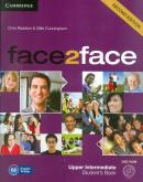 FACE2FACE UPPER INTERMEDIATE STUDENTS BOOK WITH DVD-ROM - 2ND ED