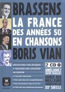 FRANCE DES ANNEES 50 EN CHANSONS, LA - BANDE DESSINEE