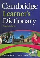 CAMBRIDGE LEARNERS DICTIONARY WITH CD-ROM - 4TH ED