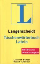 LANGENSCHEIDT TASCHENWORTERBUCH LATEIN