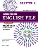 AMERICAN ENGLISH FILE STARTER A MULTIPACK WITH ONLINE PRACTICE AND ICHECKER - 2ND ED