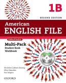AMERICAN ENGLISH FILE 1B MULTIPACK WITH ONLINE PRACTICE AND ICHECKER - 2ND ED