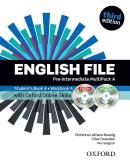 ENGLISH FILE PRE-INTERMEDIATE A MULTIPACK WITH  ITUTOR AND ONLINE SKILLS - 3RD ED