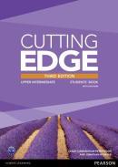 CUTTING EDGE UPPER INTERMEDIATE STUDENTS BOOK (WITH DVD) - 3RD ED