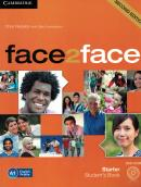 FACE2FACE STARTER STUDENTS BOOK WITH DVD-ROM - 2ND ED