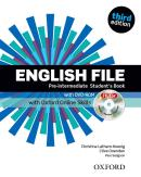 ENGLISH FILE PRE-INTERMEDIATE STUDENTS BOOK WITH ITUTOR AND ONLINE SKILLS - 3RD ED