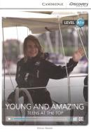YOUNG AND AMAZING - TEENS AT THE TOP HIGH BEGINNING BOOK WITH ONLINE ACCESS