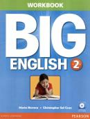BIG ENGLISH 2 WORKBOOK WITH AUDIO CD - AMERICAN - 1ST ED
