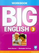BIG ENGLISH 3 WORKBOOK WITH AUDIO CD - AMERICAN - 1ST ED