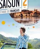 SAISON 2 - LIVRE ELEVE + CD AUDIO + DVD (A2+)
