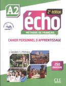 ECHO A2 - CAHIER D´EXERCICES - 2E EDITION