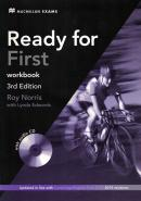READY FOR FCE WORKBOOK WITH AUDIO CD NO/KEY - 3RD ED