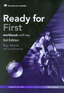 READY FOR FIRST WB WITH KEY + AUDIO CD PACK - 3RD ED