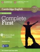 COMPLETE FIRST SB WITH ANSWER WITH CD-ROM - 2ND ED
