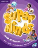 SUPER MINDS BRITISH 6 STUDENTS BOOK WITH DVD-ROM - 1ST ED
