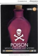 POISON - MEDICINE, MURDER, AND MYSTERY BOOK WITH ONLINE ACCESS B2+