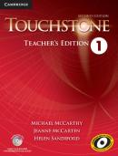 TOUCHSTONE 1 TEACHERS EDITION WITH ASSESSMENT AUDIO CD/CD-ROM - 2ND ED