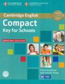 CAMBRIDGE ENGLISH COMPACT KEY FOR SCHOOLS SB WITHOUT ANSWERS WITH CD-ROM