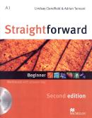 STRAIGHTFORWARD BEGINNER WORKBOOK WITH AUDIO CD (W/KEY) - 2ND ED