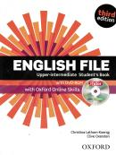 ENGLISH FILE UPPER-INTERMEDIATE SB WITH ITUTOR AND ONLINE SKILLS AND DVD - 3RD ED
