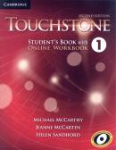 TOUCHSTONE 1  - SB WITH ONLINE WB - 2ND ED