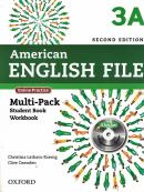 AMERICAN ENGLISH FILE 3A MULTIPACK - 2ND ED + CD