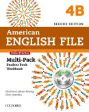 AMERICAN ENGLISH FILE 4B MULTIPACK - 2ND ED