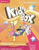 KIDS BOX STARTER CLASS BOOK WITH CD-ROM - BRITISH - 2ND ED
