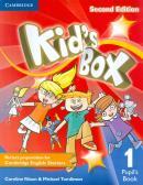 KIDS BOX 1 PUPIL´S BOOK - BRITISH - 2ND ED