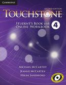 TOUCHSTONE 4 STUDENT´S BOOK WITH ONLINE WORKBOOK - 2ND ED