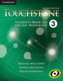 TOUCHSTONE 3 STUDENT´S BOOK WITH ONLINE WORKBOOK - 2ND ED