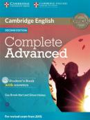 COMPLETE ADVANCED - SB WITH ANSWERS WITH CD-ROM - 2ND ED