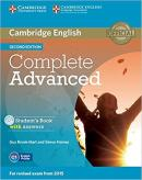 COMPLETE ADVANCED SB WITH ANSWERS, CD-ROM AND CLASS AUDIO - 2ND ED