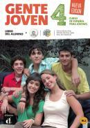 GENTE JOVEN - NUEVA EDICION - LIBRO DEL ALUMNO 4 CON CD AUDIO B1+