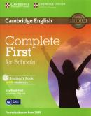 COMPLETE FIRST FOR SCHOOLS STUDENTS BOOK WITH ANSWERS WITH CD-ROM